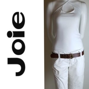 Joie White Capri Cropped Pants  - Size 29